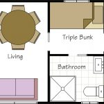 Standard 1.5 bedroom floor plan