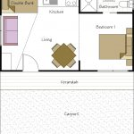 Pet Friendly Accommodation Floor Plan