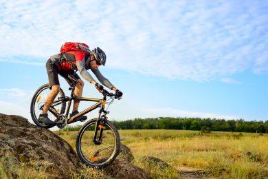 Mountain biking New England High Country